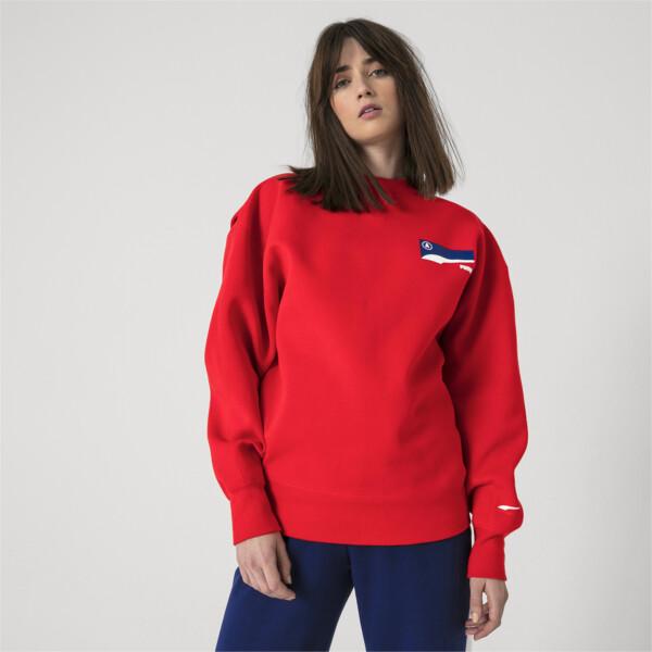 PUMA x ADER ERROR Crew Neck Pullover, Puma Red, large