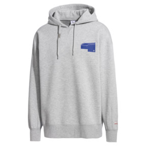 Thumbnail 1 of PUMA x ADER ERROR Hoodie, Light Gray Heather, medium