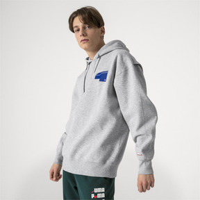 Thumbnail 2 of PUMA x ADER ERROR Hoodie, Light Gray Heather, medium