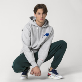 Thumbnail 5 of PUMA x ADER ERROR Hoodie, Light Gray Heather, medium