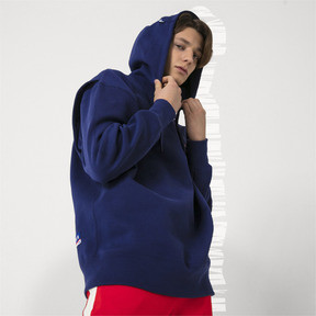 Thumbnail 2 of PUMA x ADER ERROR HOODIE, Blueprint, medium-JPN