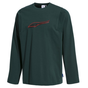 Thumbnail 1 of PUMA x ADER ERROR Long Sleeve Shirt, Ponderosa Pine, medium