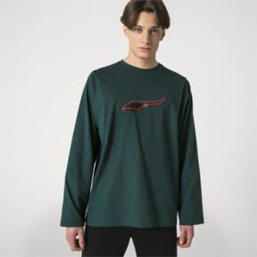 Thumbnail 2 of PUMA x ADER ERROR Long Sleeve Shirt, Ponderosa Pine, medium