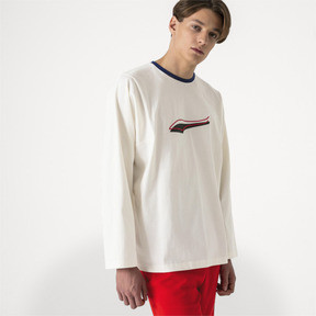 Thumbnail 2 of PUMA x ADER ERROR Long Sleeve Shirt, Whisper White, medium