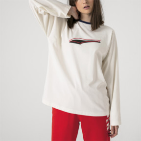 Thumbnail 6 of PUMA x ADER ERROR Long Sleeve Shirt, Whisper White, medium