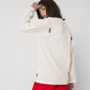 Thumbnail 7 of PUMA x ADER ERROR Long Sleeve Shirt, Whisper White, medium