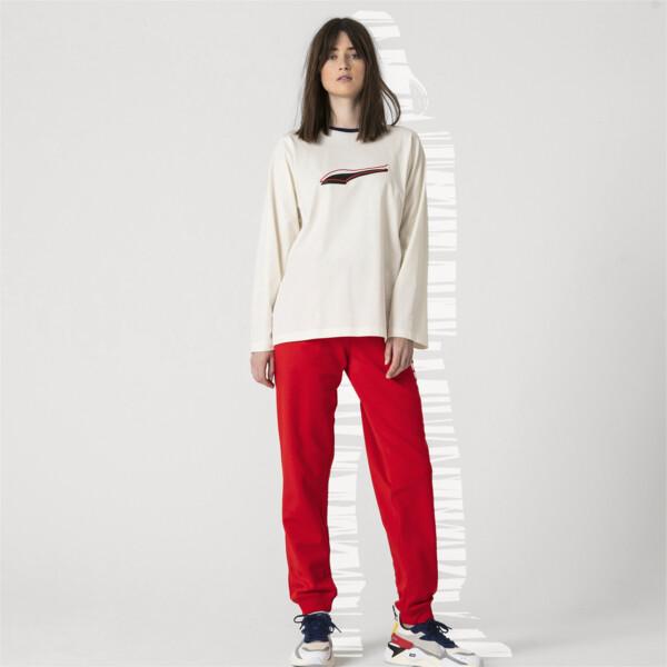 PUMA x ADER ERROR Long Sleeve Shirt, Whisper White, large