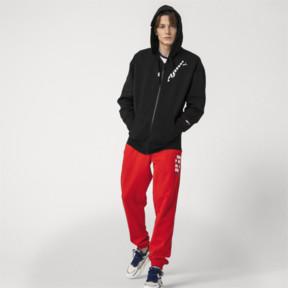 Thumbnail 5 of PUMA x ADER ERROR Full Zip Hoodie, Cotton Black, medium