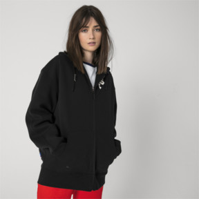 Thumbnail 6 of PUMA x ADER ERROR Full Zip Hoodie, Cotton Black, medium