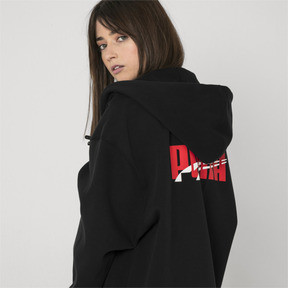 Thumbnail 7 of PUMA x ADER ERROR Full Zip Hoodie, Cotton Black, medium