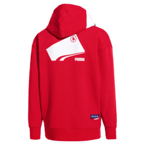 Thumbnail 4 of PUMA x ADER ERROR Full Zip Hoodie, Puma Red, medium