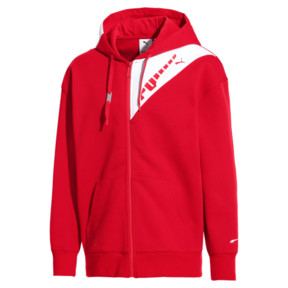 Thumbnail 1 of PUMA x ADER ERROR Full Zip Hoodie, Puma Red, medium