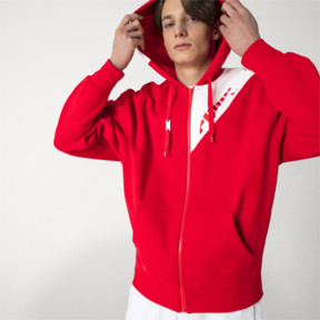 Thumbnail 2 of PUMA x ADER ERROR Full Zip Hoodie, Puma Red, medium