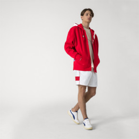 Thumbnail 5 of PUMA x ADER ERROR Full Zip Hoodie, Puma Red, medium
