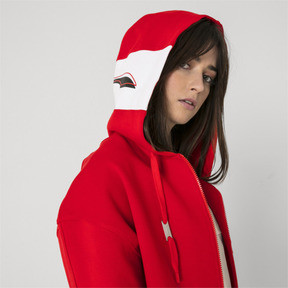 Thumbnail 9 of PUMA x ADER ERROR Full Zip Hoodie, Puma Red, medium
