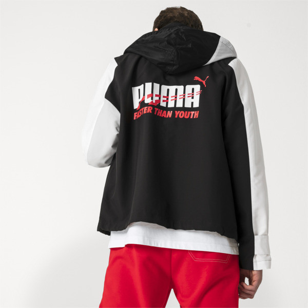 PUMA x ADER ERROR Jacket, Puma Black, large