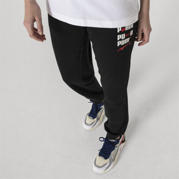 PUMA x ADER ERROR Knitted Sweatpants, Cotton Black, large