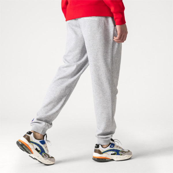 PUMA x ADER ERROR Double Knit Pants, Light Gray Heather, large