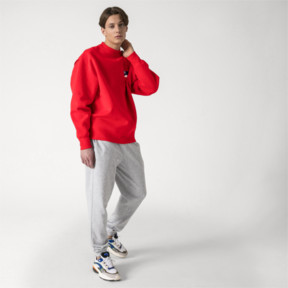 Thumbnail 5 of PUMA x ADER ERROR Knitted Sweatpants, Light Gray Heather, medium