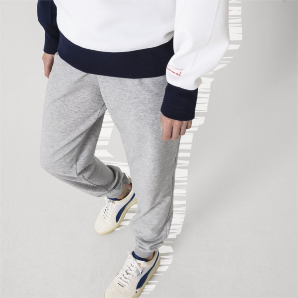 PUMA x ADER ERROR Knitted Sweatpants, Light Gray Heather, large