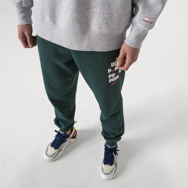 PUMA x ADER ERROR Knitted Sweatpants, Ponderosa Pine, large