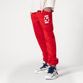 Thumbnail 2 of PUMA x ADER ERROR Knitted Sweatpants, Puma Red, medium