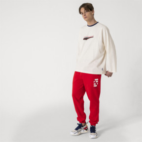 Thumbnail 5 of Pantalon de sweat tricoté PUMA x ADER ERROR, Puma Red, medium