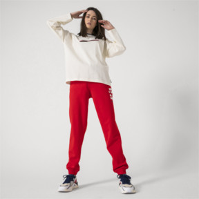 Thumbnail 8 of PUMA x ADER ERROR Knitted Sweatpants, Puma Red, medium