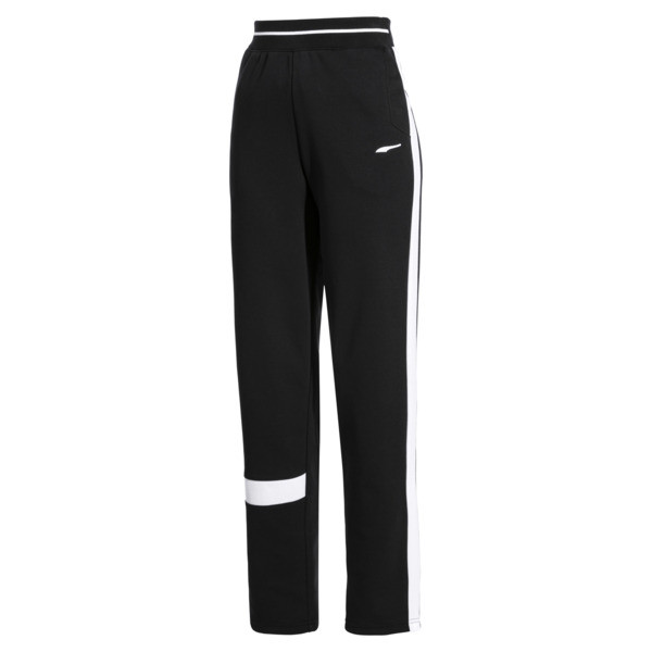 PUMA x ADER ERROR Knitted Women's Track Pants, Cotton Black, large