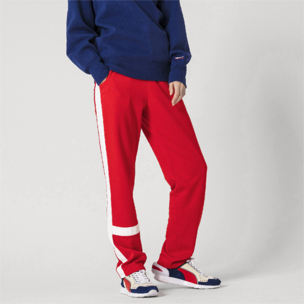 PUMA x ADER ERROR Knitted Women's Track Pants, Puma Red, large
