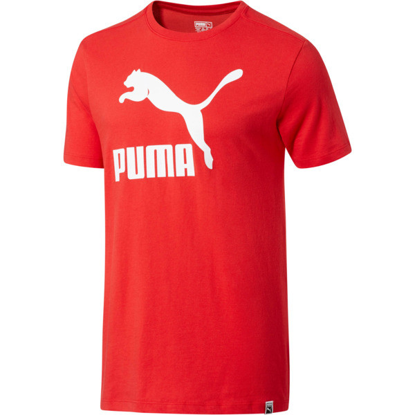 Camiseta Archive Life para hombre, Ribbon Red-Puma White, grande