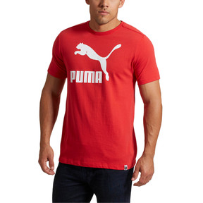 Miniatura 2 de Camiseta Archive Life para hombre, Ribbon Red-Puma White, mediano