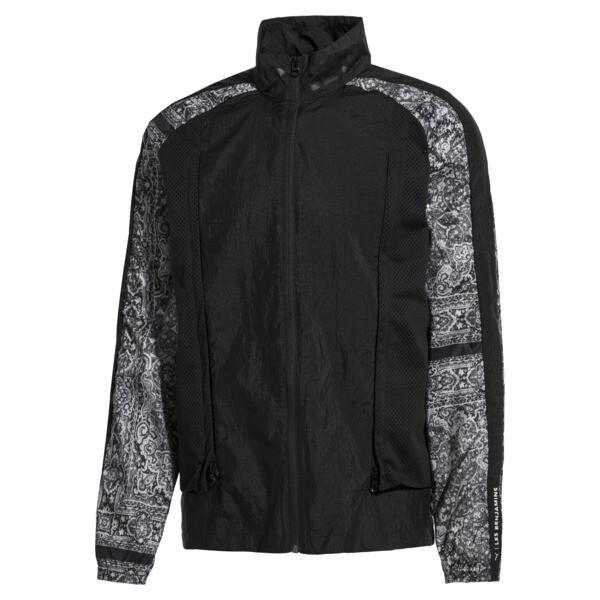 PUMA x LES BENJAMINS Men's Track Jacket, Puma Black, large