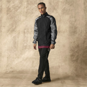 Thumbnail 5 of PUMA x LES BENJAMINS Men's Track Jacket, Puma Black, medium