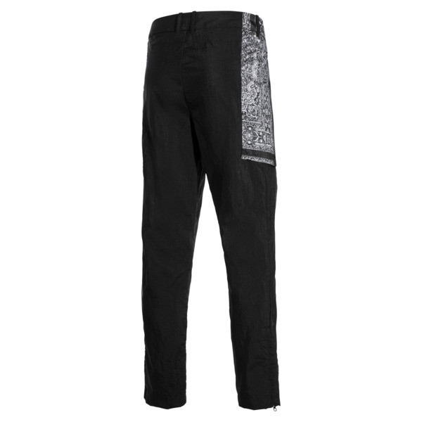PUMA x LES BENJAMINS Men's Track Pants, Puma Black, large