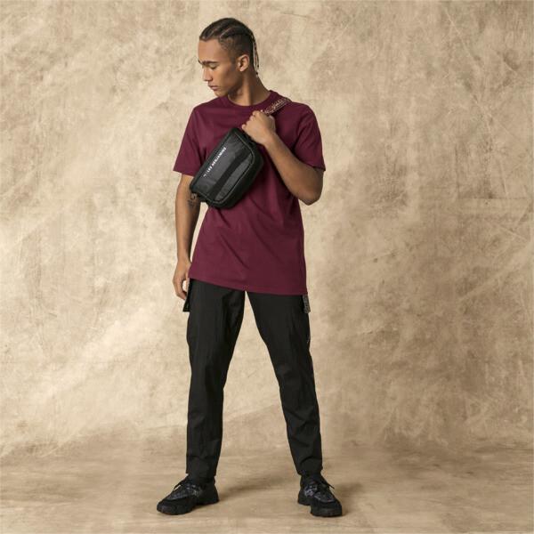 PUMA x LES BENJAMINS Men's Track Pants, Puma Black, large