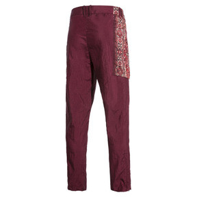 Thumbnail 6 of PUMA x LES BENJAMINS Men's Track Pants, Burgundy, medium