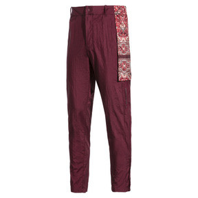 Thumbnail 5 of PUMA x LES BENJAMINS Men's Track Pants, Burgundy, medium