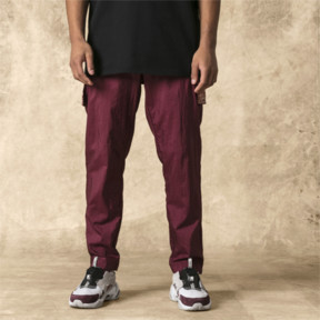 Thumbnail 1 of PUMA x LES BENJAMINS Men's Track Pants, Burgundy, medium