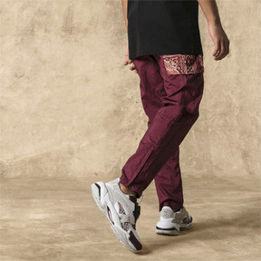 Thumbnail 2 of PUMA x LES BENJAMINS Men's Track Pants, Burgundy, medium