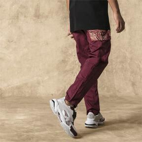 Thumbnail 2 of PUMA x LES BENJAMINS Men's Track Pants, Burgundy, medium