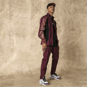 Thumbnail 3 of PUMA x LES BENJAMINS Men's Track Pants, Burgundy, medium