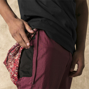 Thumbnail 4 of PUMA x LES BENJAMINS Men's Track Pants, Burgundy, medium