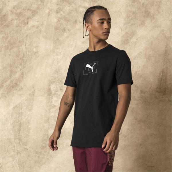 T-Shirt PUMA x LES BENJAMINS pour homme, Puma Black, large