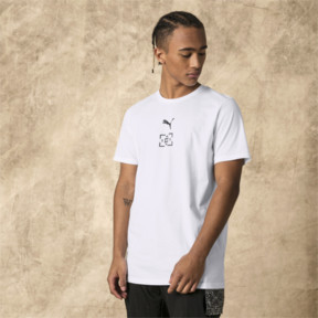 Thumbnail 2 of PUMA x LES BENJAMINS Men's Tee, Puma White, medium
