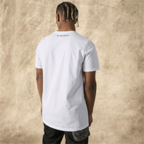 Thumbnail 3 of PUMA x LES BENJAMINS Men's Tee, Puma White, medium