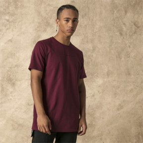 Thumbnail 2 of PUMA x LES BENJAMINS Men's Tee, Burgundy, medium