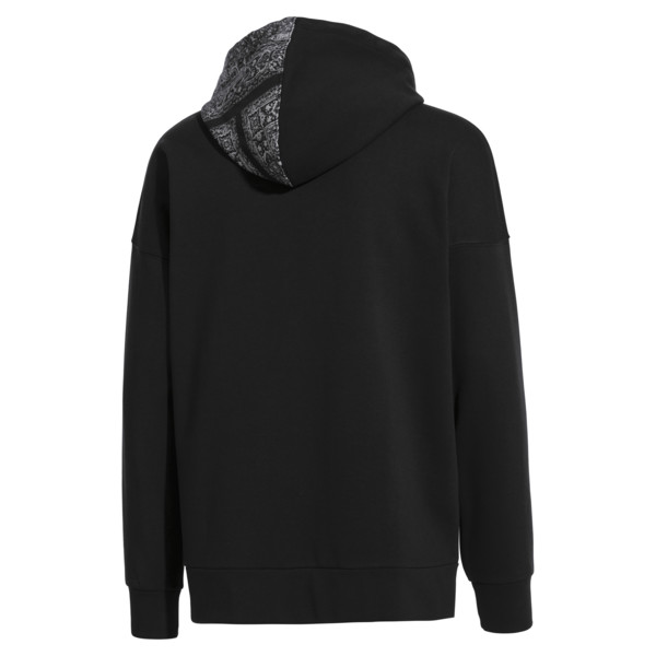 Bluza z kapturem PUMA x LES BENJAMINS, Puma Black, obszerny