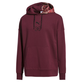 Thumbnail 1 of PUMA x LES BENJAMINS Hoodie, Burgundy, medium