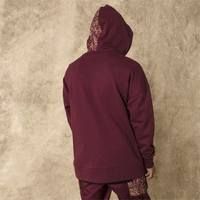 Thumbnail 6 of PUMA x LES BENJAMINS Hoodie, Burgundy, medium
